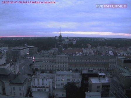 Karlovina Pardubice webkamera