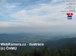 Online kamera Lysá hora počasí